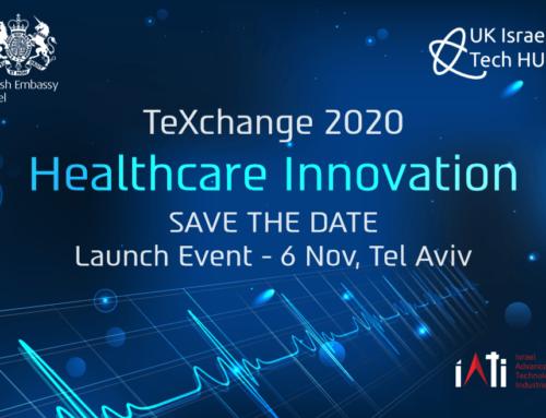 TransTech se tiendra le 5 Novembre 2020 à Tel-Aviv. Le 6 Nov un event « santé ».