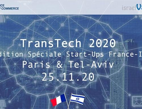 TransTech se tiendra le 25 Novembre 2020 à Tel-Aviv. Le 6 Nov un event « santé ».